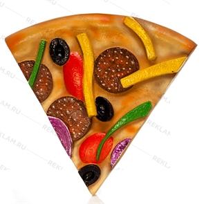 муляж кусок пиццы