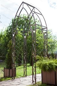 Кованая декоративная арка 863-08R