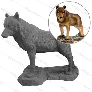 Объемная фигура Волчица