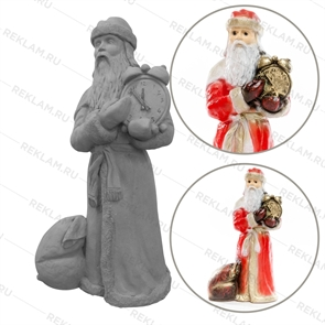 Фигура Дед Мороз с часами