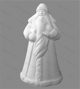 Фигура из пенопласта дедушка Мороз