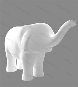 Скульптура из пенопласта Слон