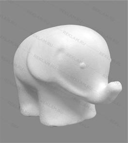 Скульптура из пенопласта Слоник
