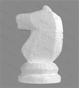 Фигура из пенопласта шахматный Конь