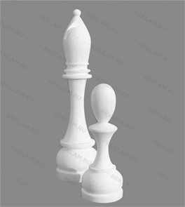 Фигура из пенопласта шахматы