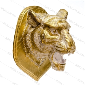 Декоративное панно голова тигра