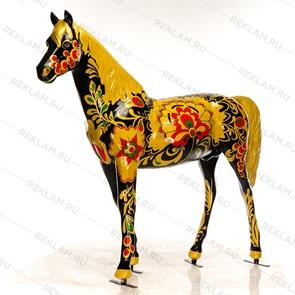 фигура конь хохлома