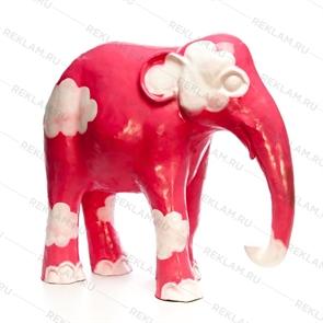 объемная фигура слоник