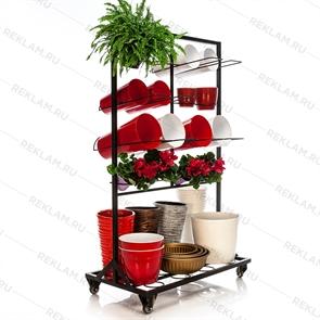 Торговое оборудование под цветочные горшки