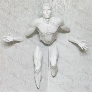 Фигура Мужчина выходящий из стены
