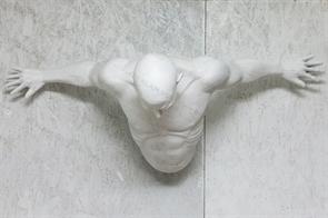 Фигура Мужчина выходящий из стены U08767