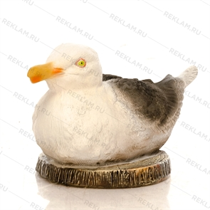 объемная фигура чайка