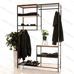 кованое торговое оборудование для магазина одежды