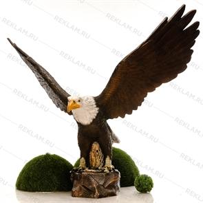 Объемная фигура орел горный