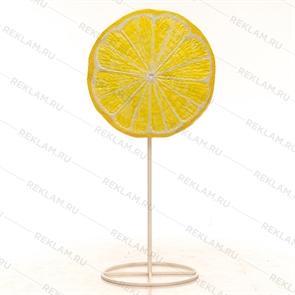 Рекламный стоппер Леденец лимонный