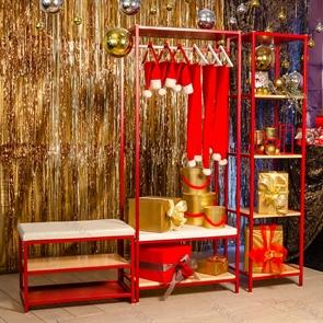 Комплект стеллажей для магазина одежды