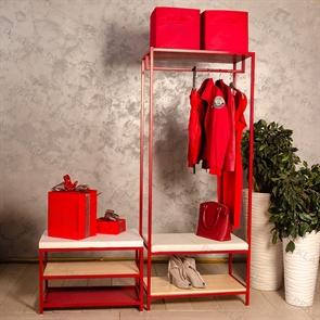 комплект мебели для магазина одежды
