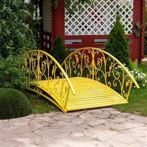 Декоративный кованый мост