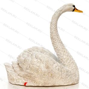 декоративная фигура лебедь