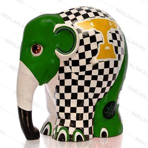 Слон стеклопластик футбол