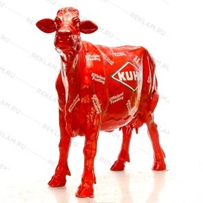 объемная фигура корова