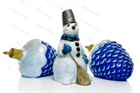 новогодний декор из пластика