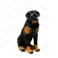 рекламная фигура год собаки ротвейлер