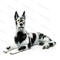 рекламная фигура собаки из пластика