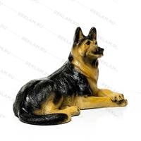 объемная фигура собаки из пластика