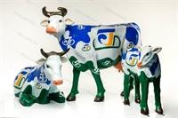 ростовые рекламные коровы