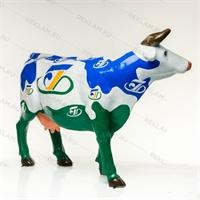 корова из пластика с индивидуальным дизайном