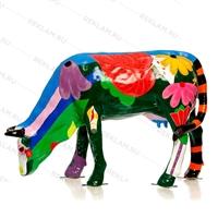 ростовая фигура коровы с индивидуальной покраской