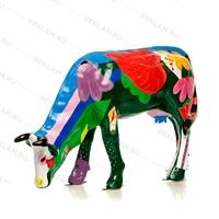 рекламная фигура коровы из пластика купить