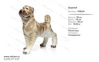 рекламная фигура собаки из полистоуна