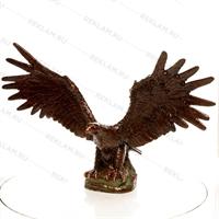парковая скульптура орёл под бронзу