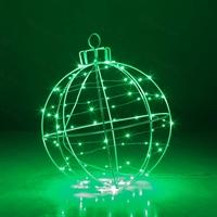 светящаяся фигура елочный шар