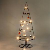 кованый новогодний подсвечник елка