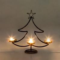 новогодняя елка подсвечник