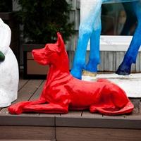 ростовая фигура собак