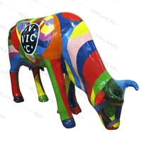 рекламная фигура коровы в натуральную величину