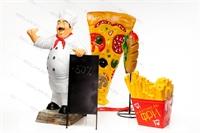 оригинальная реклама пиццерии