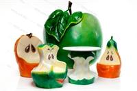 рекламные фигуры яблок