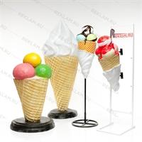ростовые рекламные фигуры мороженого