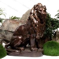 рекламная фигура лев сидящий