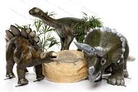 большие фигуры динозавров