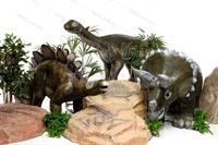 рекламные фигуры динозаврорв