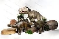 ростовые фигуры динозавров