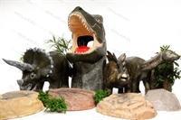 объемные фигуры динозавров