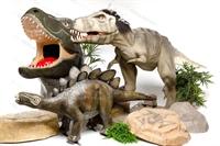 ростовые фигуры динозавра