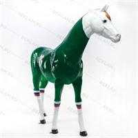 рекламная фигура конь футбольный